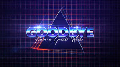 The 80s Goodbye