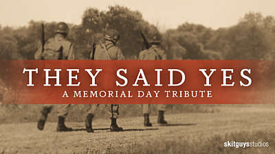 They Said Yes: A Memorial Day Tribute