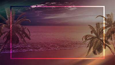 Tropical Blank