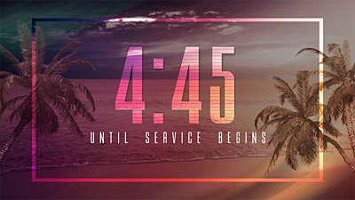 Tropical Countdown