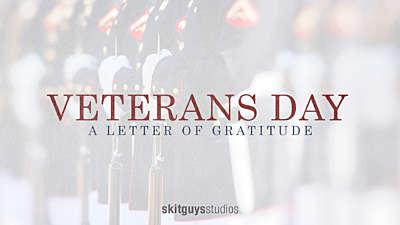 Veterans Day: A Letter Of Gratitude