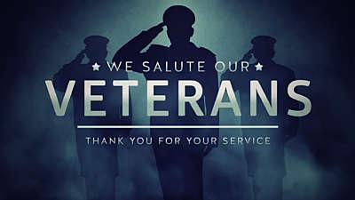 Veterans Salute Thank You