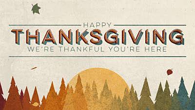 Vintage Fall Thanksgiving