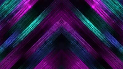 Vivid Fibers Teal Purple Falls