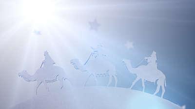 White Christmas Wisemen
