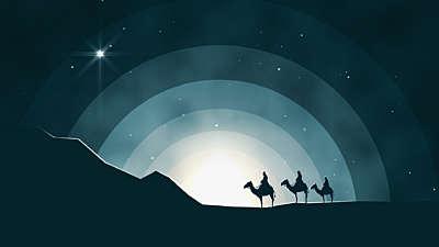 Winter Night Wisemen