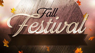 Woodgrain Fall Festival