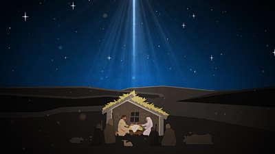 Christmas Artwork Nativity