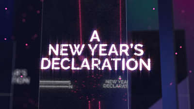 A New Years Declaration