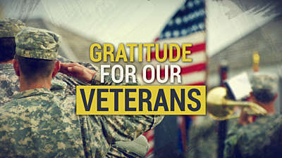 Gratitude For Our Veterans