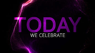 Today We Celebrate