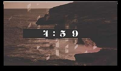 Ocean Shore Countdown