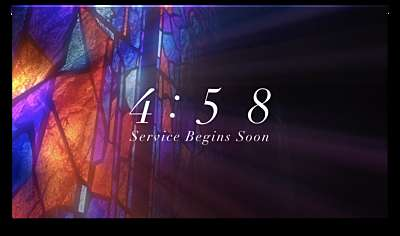 Modern Glass Countdown