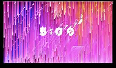 Color Strokes Countdown