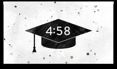 Confetti Graduation Countdown
