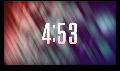 Color Blur Countdown
