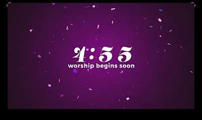 Confetti Countdown