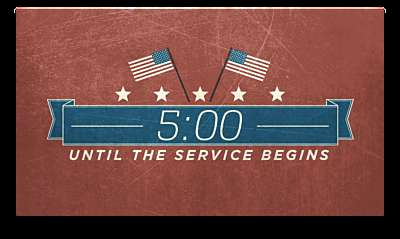 Vintage Independence Day Countdown