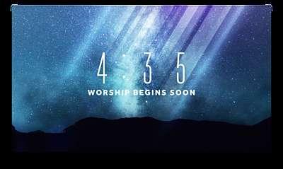 Galaxy Rays Countdown