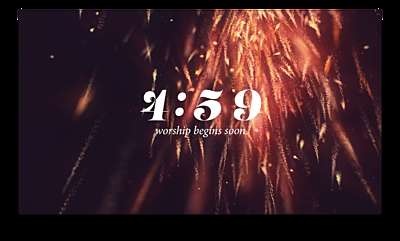 New Year Sparks Countdown