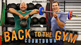 Church Countdown: Back To The Gym