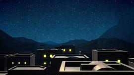 Bethlehem Night Rooftops