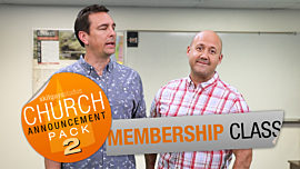 Church Announcement 2: Membership Class