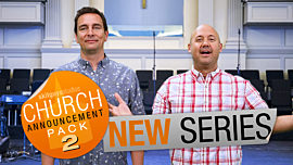Church Announcement 2: New Series