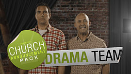 Church Announcement: Drama Team