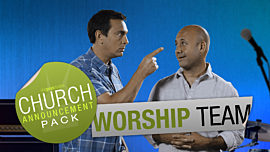 Church Announcement: Worship