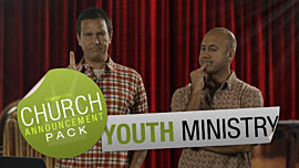 Church Announcement: Youth Ministry