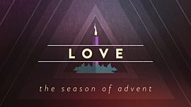 Christmas Advent Candles Love