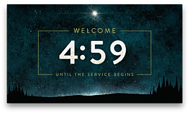 Christmas Eve Light Countdown
