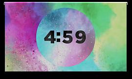Color Burst Countdown