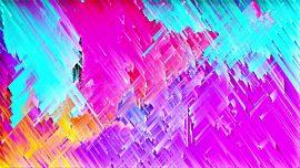 Color Strokes Rain