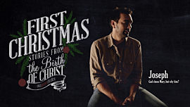 First Christmas: Joseph