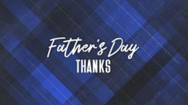 Father's Day Thanks