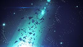 Galaxy Glass Teal Blast