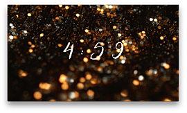Glitter Light Countdown