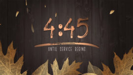 Golden Leaves Countdown
