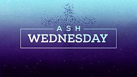 Gradient Ash Wednesday