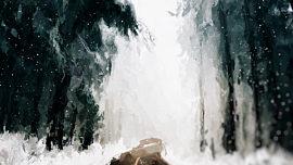 Let It Snow Woodsy