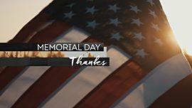 Memorial Day Thanks