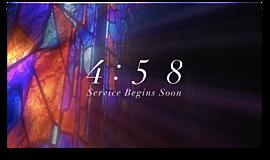 Modern Glass Countdown