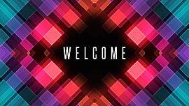 Mosaic Glow Welcome