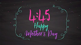 Mother's Day Chalk Countdown
