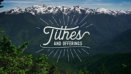 Mountain Pines Tithes Offerings