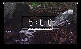 Nature Walk Countdown