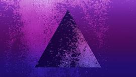 Neon Water Purple