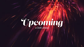 New Year Sparks Upcoming